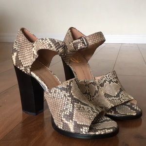 Real Python shoes Vince Camuto never worn